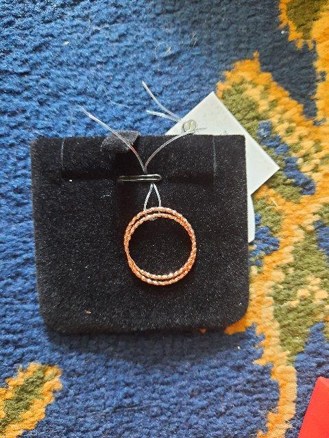 Серьги кольцом