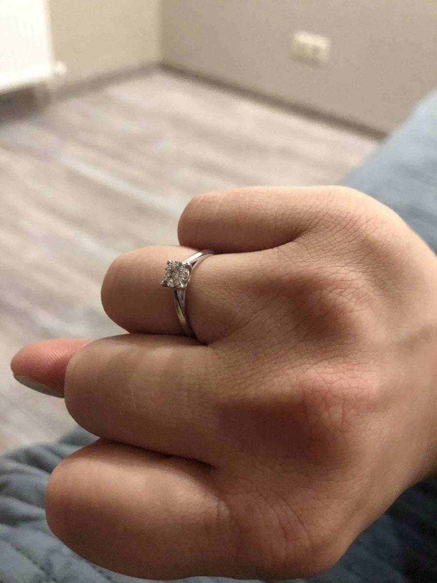 Помолвочное кольцо ☺️☺️☺️☺️