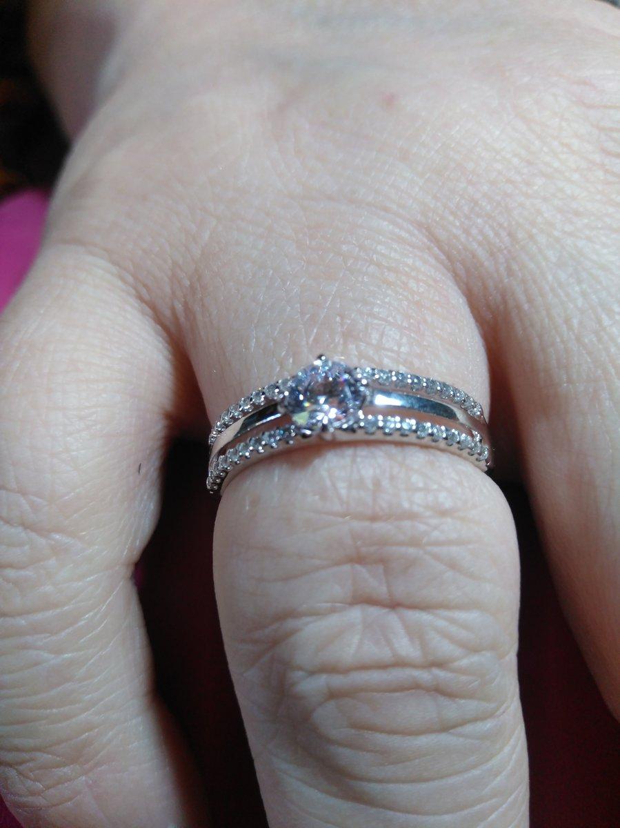Колечко на серебряную свадьбу