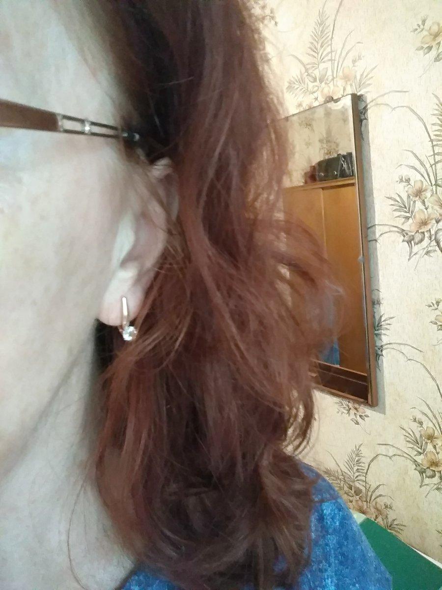 Прелестные серёжки с топазами