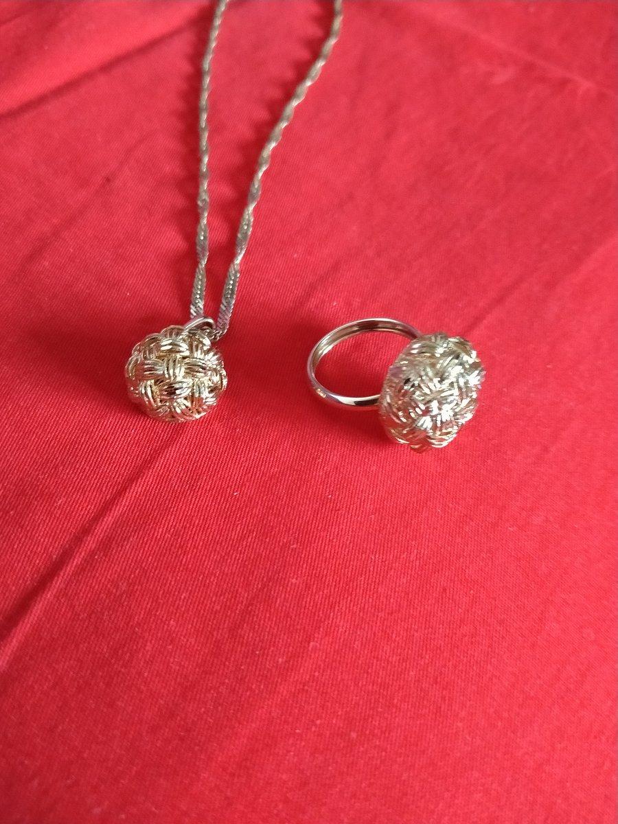 Подвеска и кольцо очаровашки!