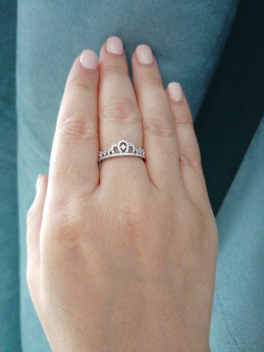 Нежное кольцо для принцесс)
