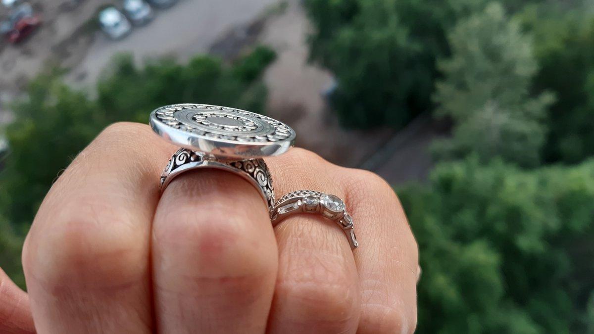 Давно искала подобное кольцо!