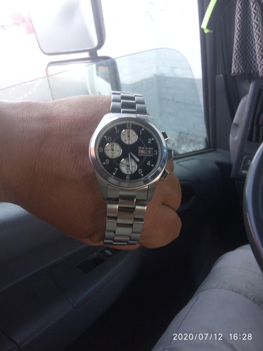 Кастет-часы