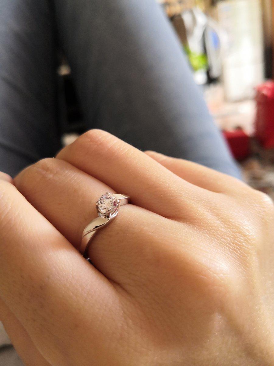 Когда заказывала кольцо...