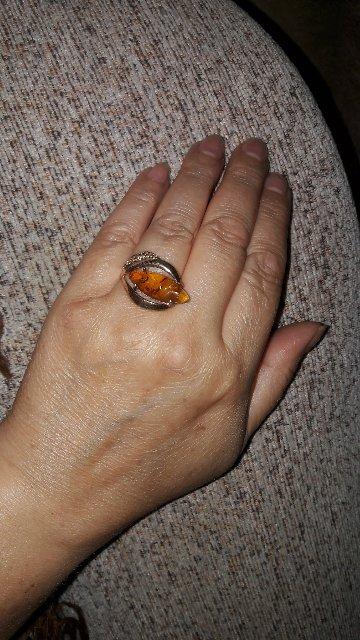 Хорошо кольцо,ношу и радуюсь