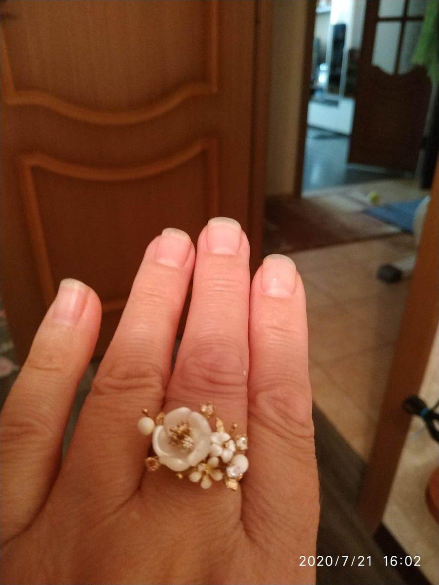 Кольцо с Агатом на Агатовую свадьбу