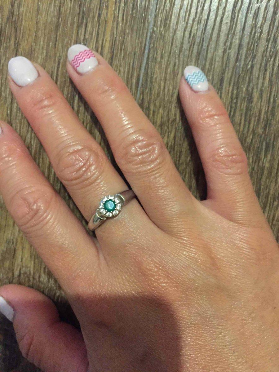 Очень красивое кольцо с агатом