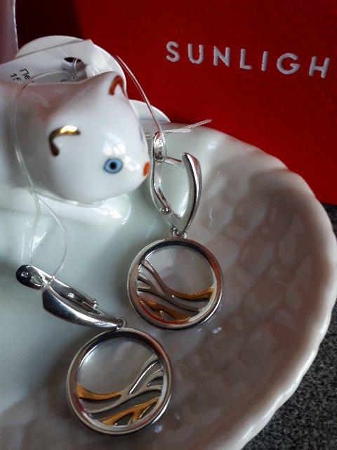 Серебряные серьги SOKOLOV-стильно, красиво, роскошно!!!
