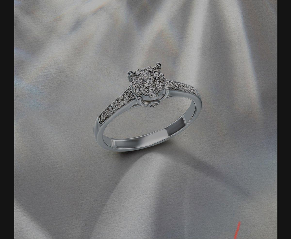 Очень красиво кольцо.