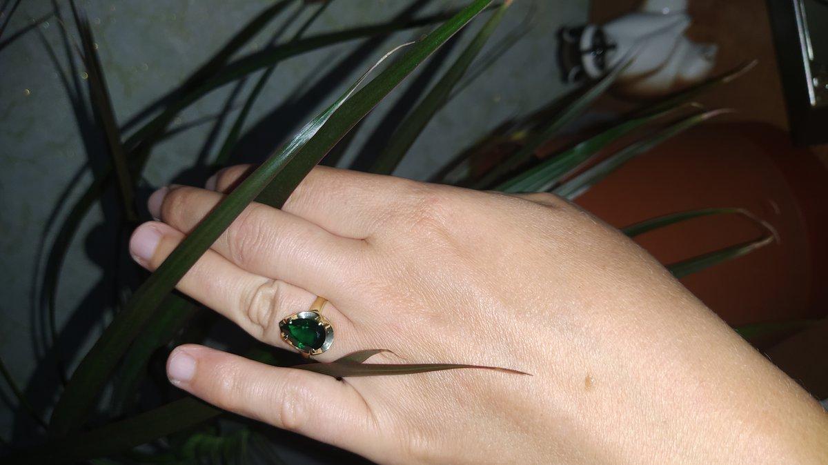 Кольцо чудесное.