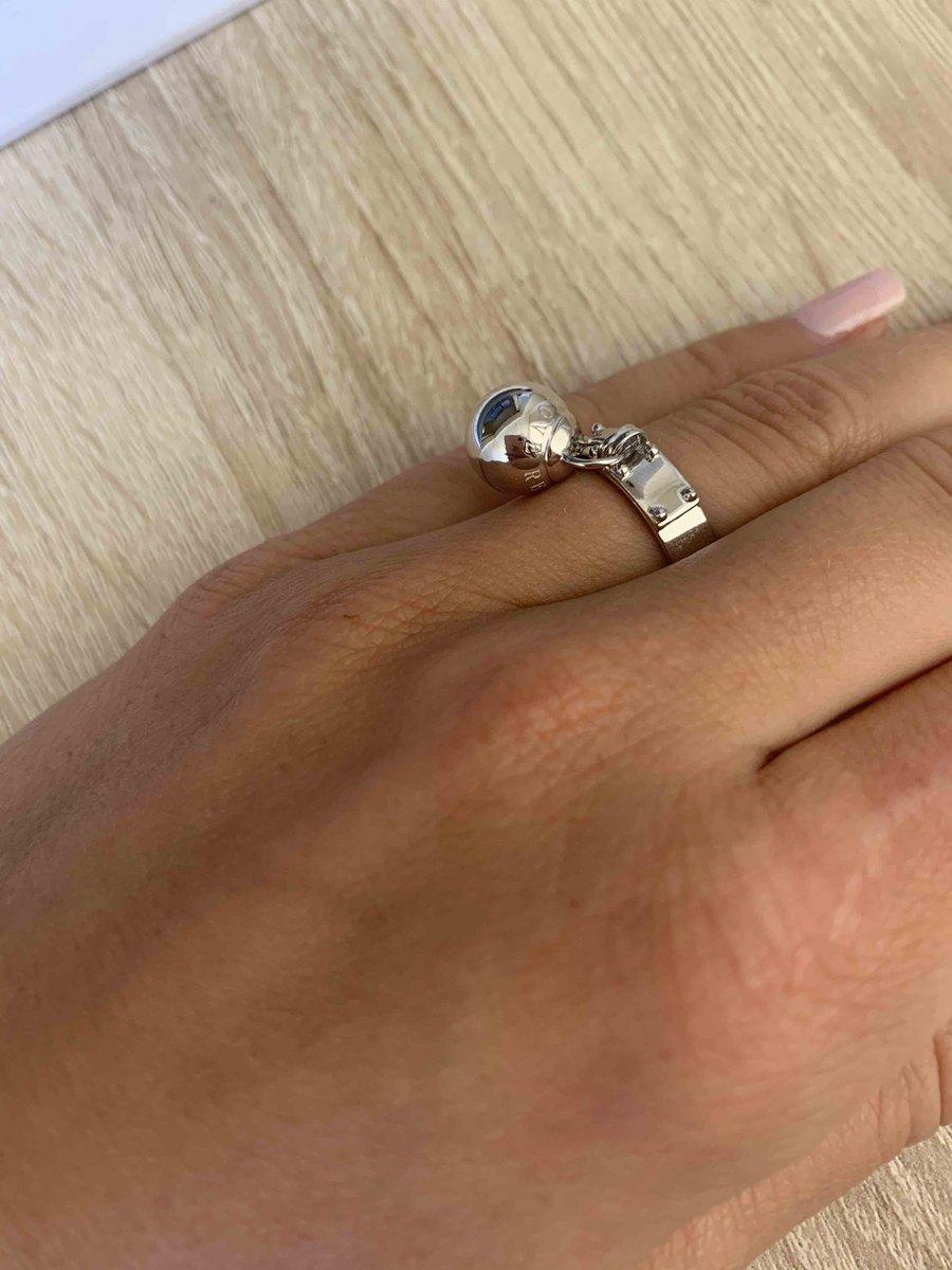 Кольцо формата тиффани