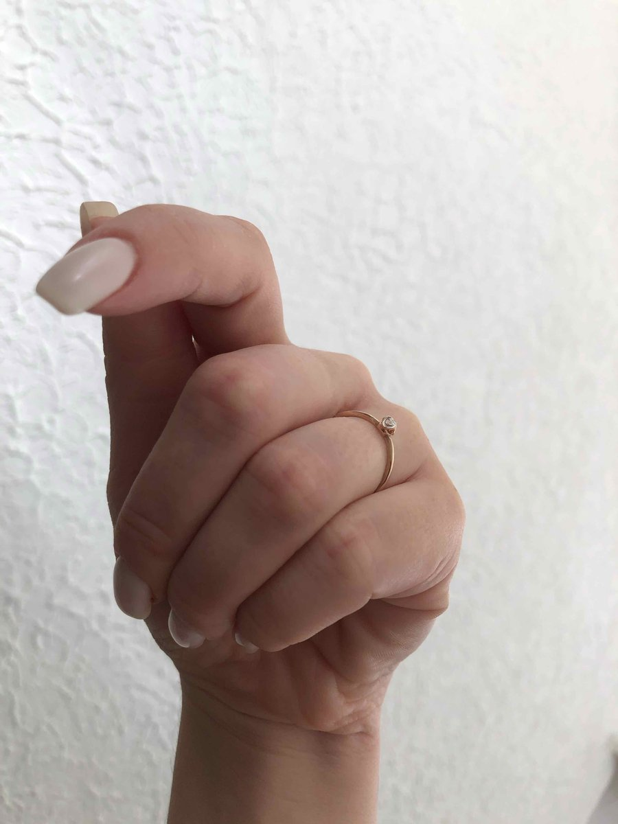 Кольцо 17 размера