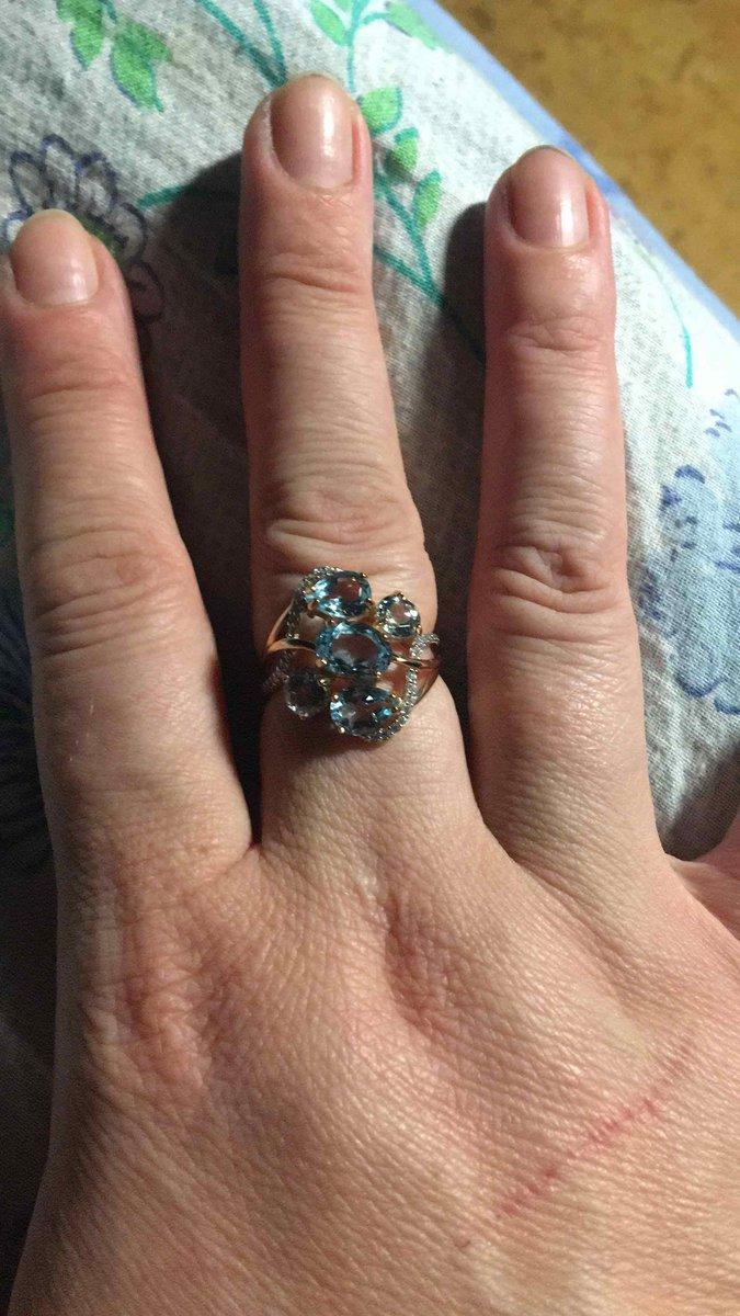 Шикарное кольцо для выхода!