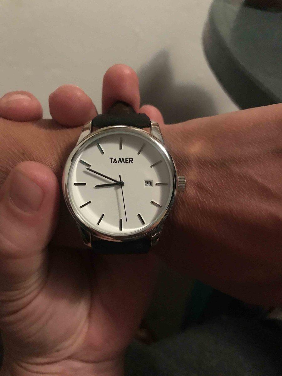 Часы tamer