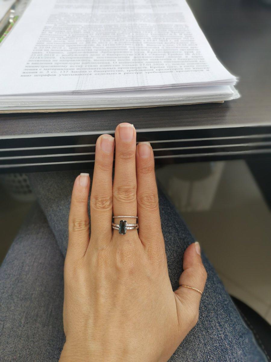 Изящное кольцо.