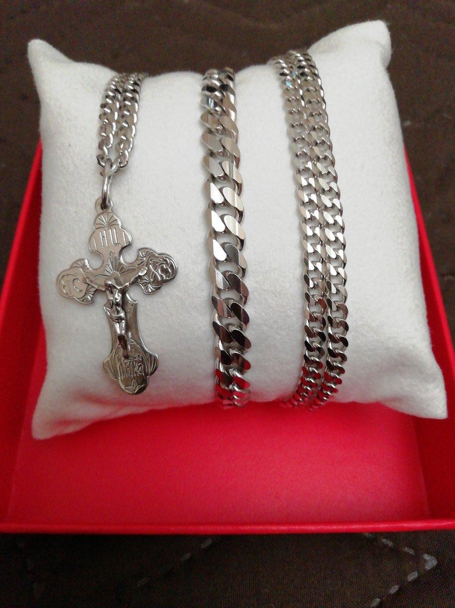 Серебряный браслет в подарок