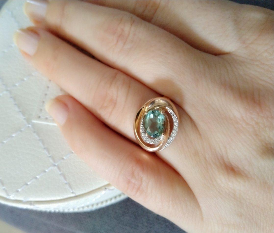 Изумительное кольцо.