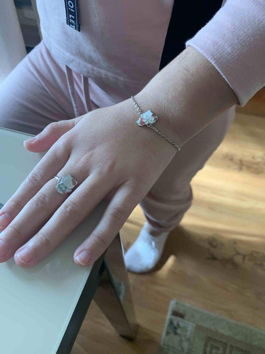 Очень красивое кольцо дочку понравилась