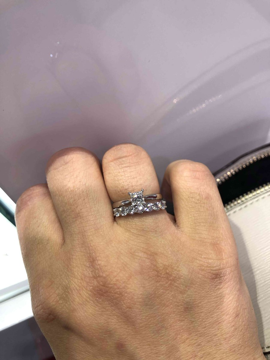 Дорожка из бриллиантов