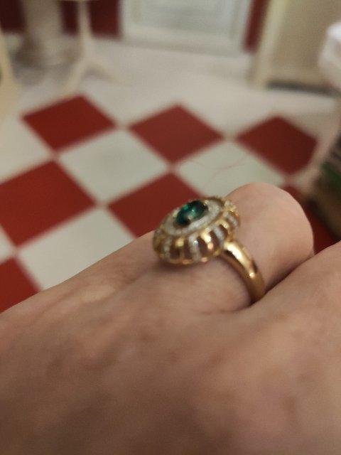 Роскошное кольцо!