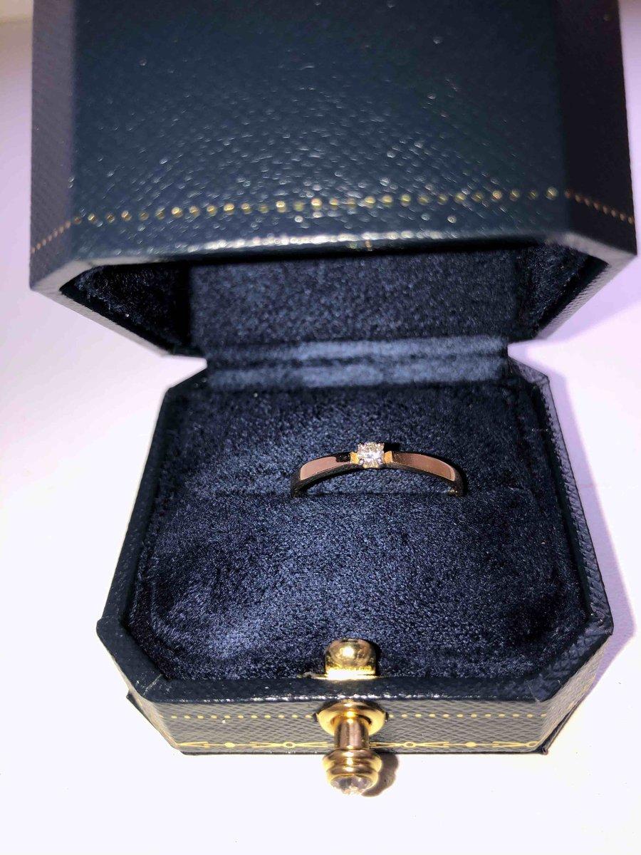 Золотое кольцо с бриллиантиком