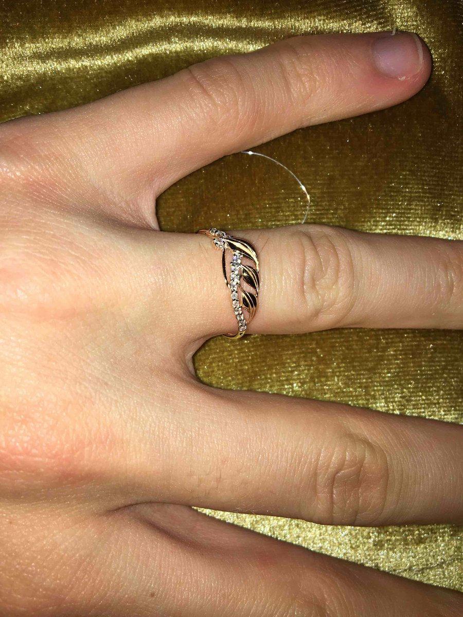 Красивое и изящное кольцо