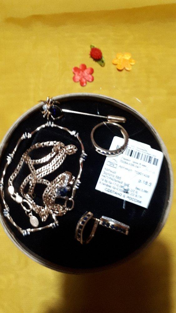 Изумительно кольцо-дорожки с сапфирами и бриллиантами. красота двойная.💎