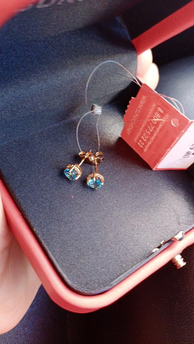 Отличные серьги, голубой топаз, буду приобретать ещё из этой серии кольцо