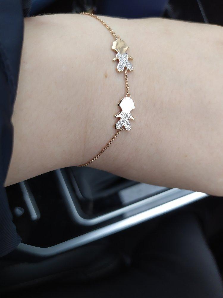 Красивый браслет, но очень сильно мелкий