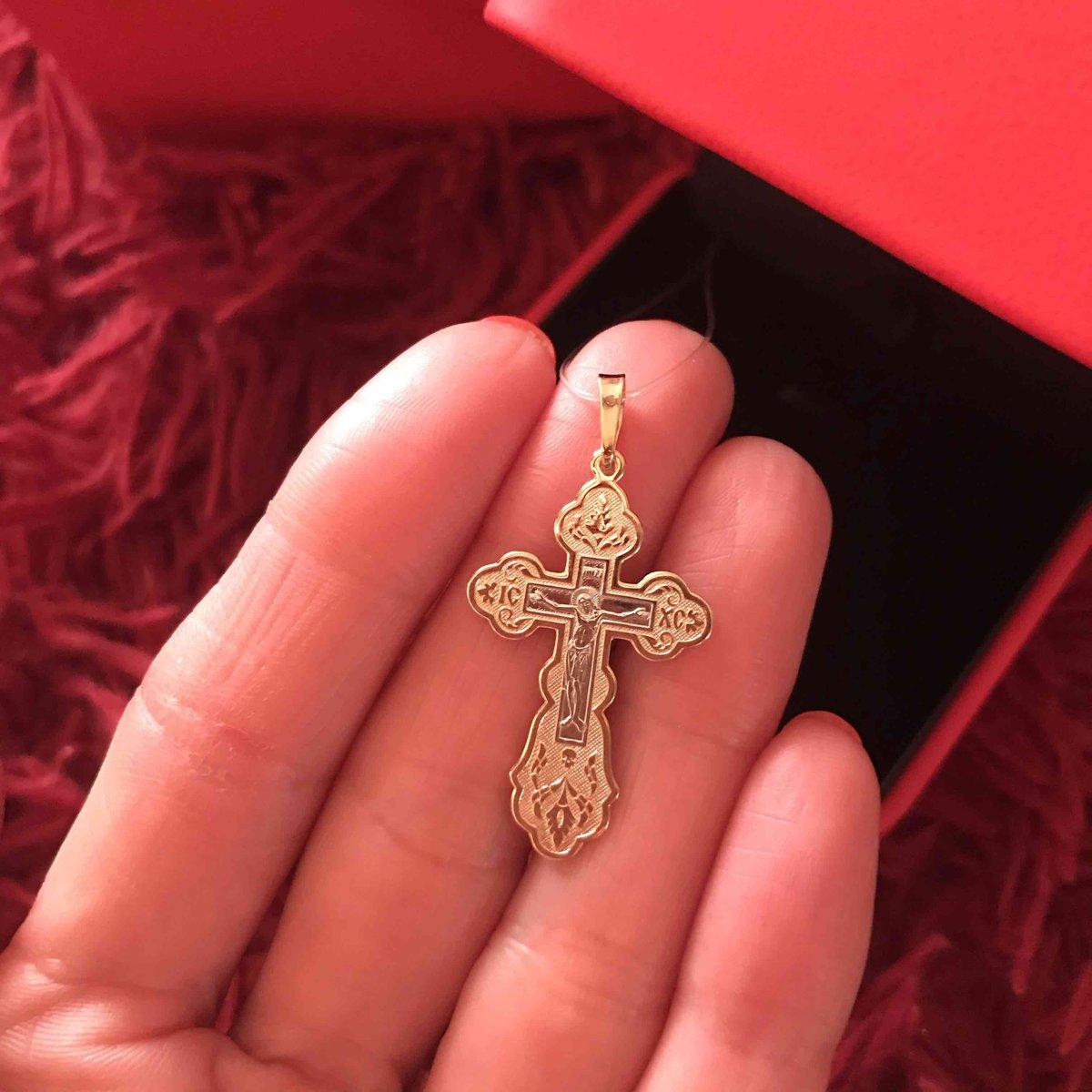 Шикарный православный крест!