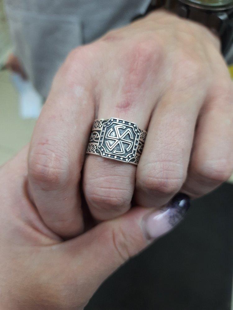 Кольцо с символом калаврат