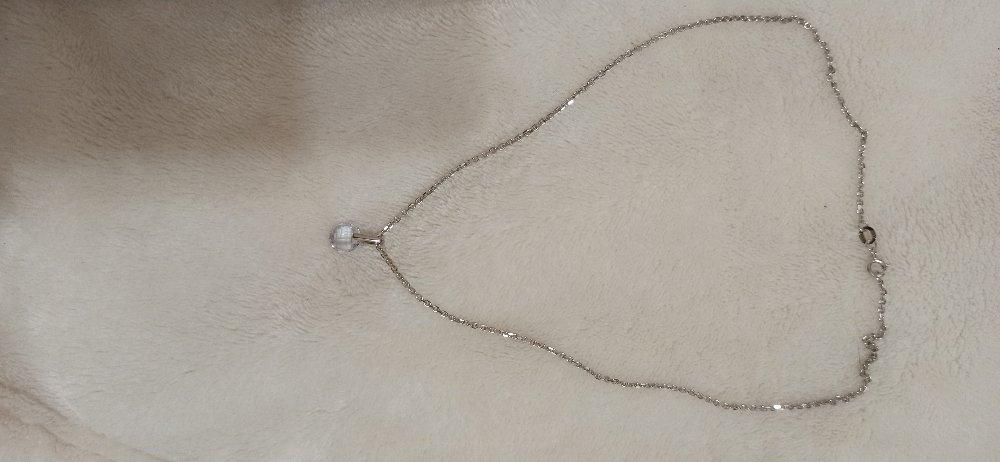 Цепочка серебряная на шею  40 см