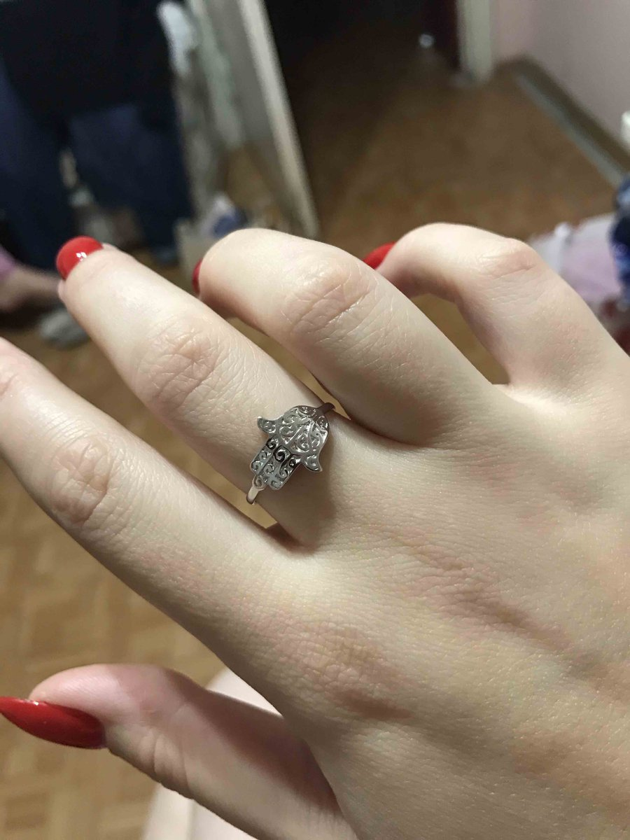 Рука фатьмы кольцо