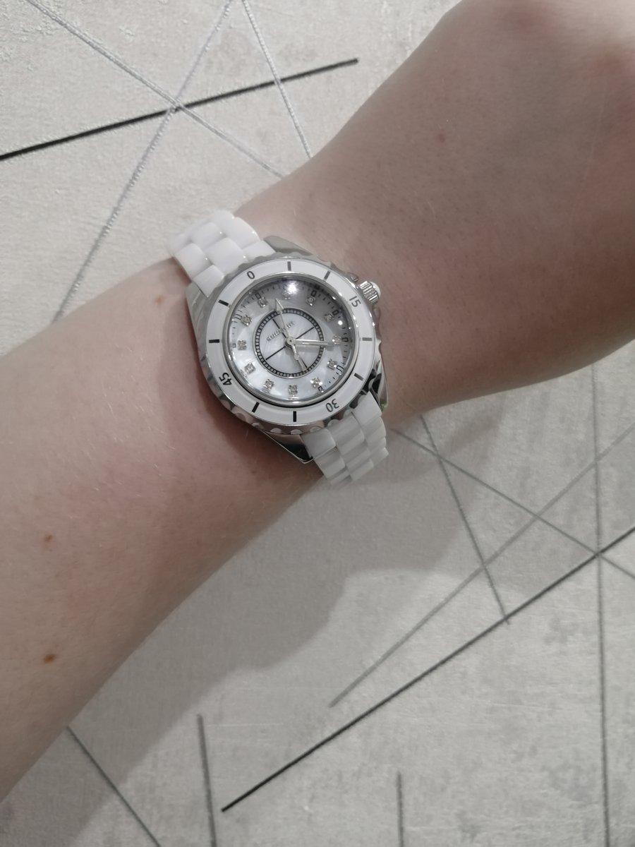 Часы с керамический браслетом