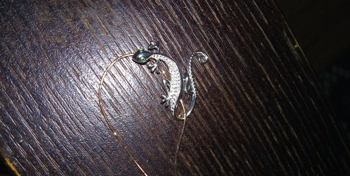 Саламандра с зелёными глазами