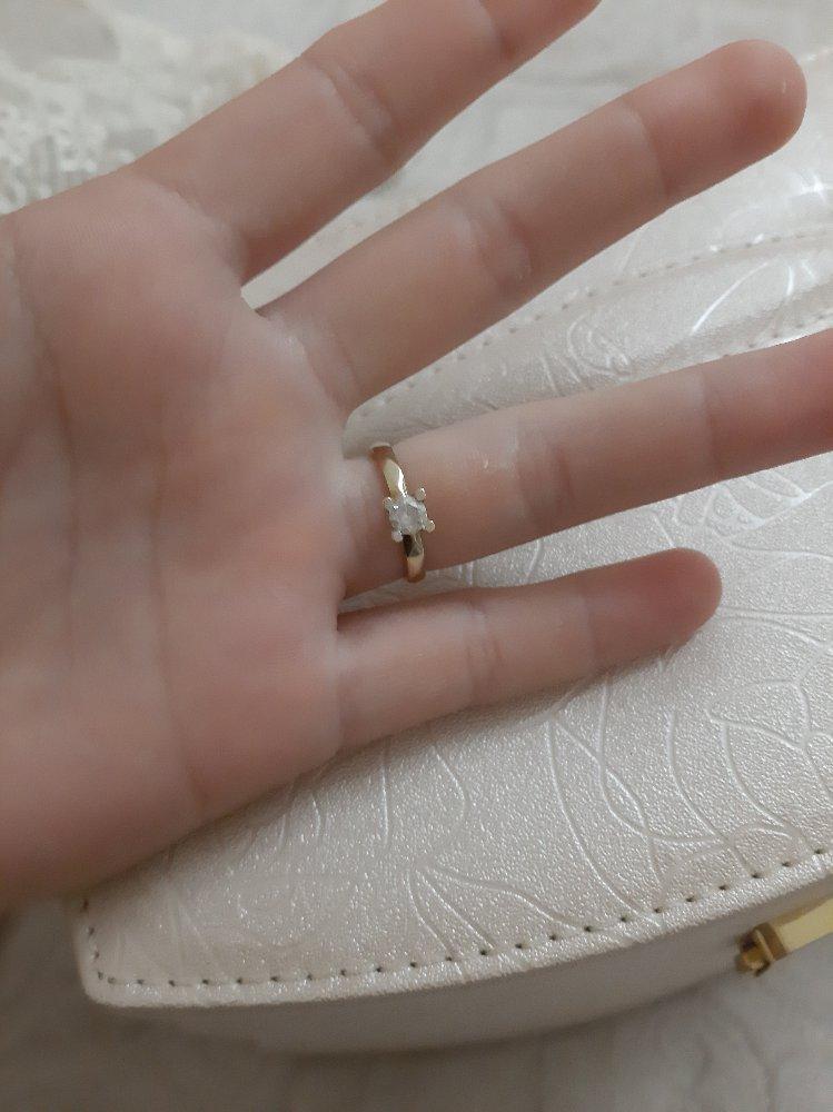 Очень довольна кольцом, самое приятное обслуживание