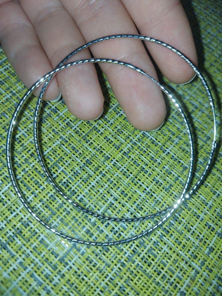 Серёжки кольца
