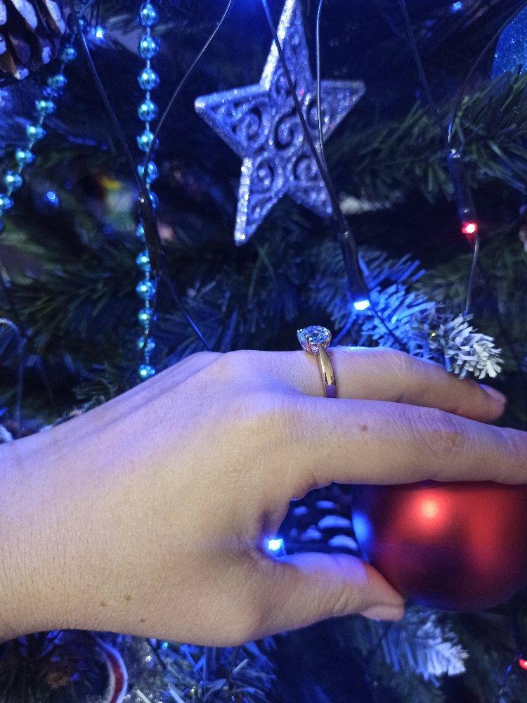 Кольцо с топазом 💍