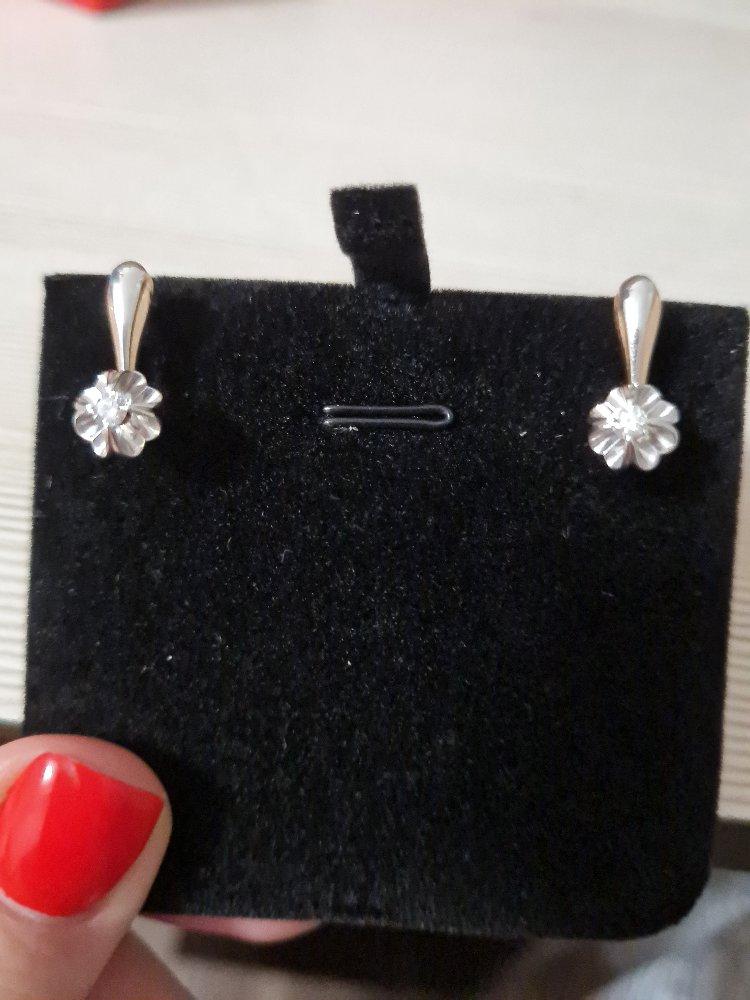 Серёжки с бриллиантами