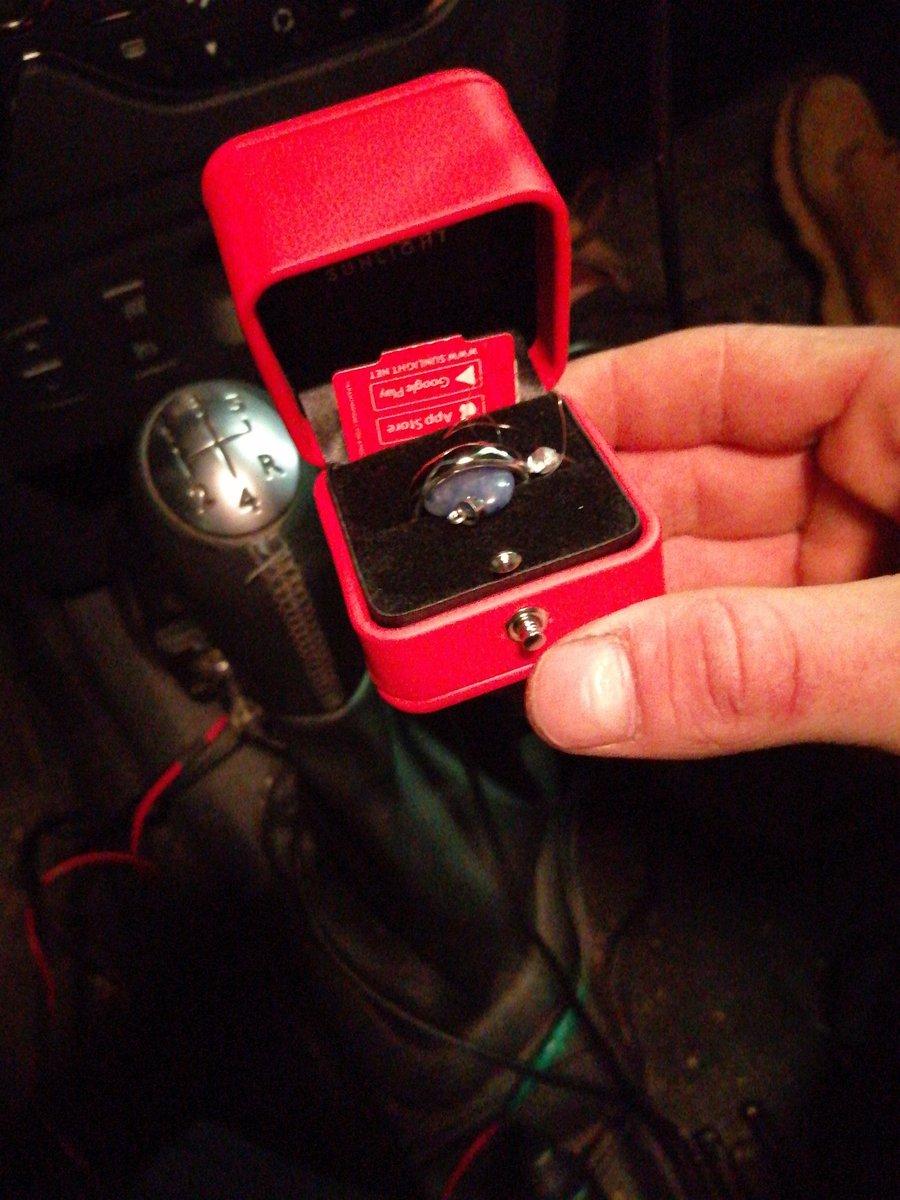 Крутое кольцо именно как подарочное