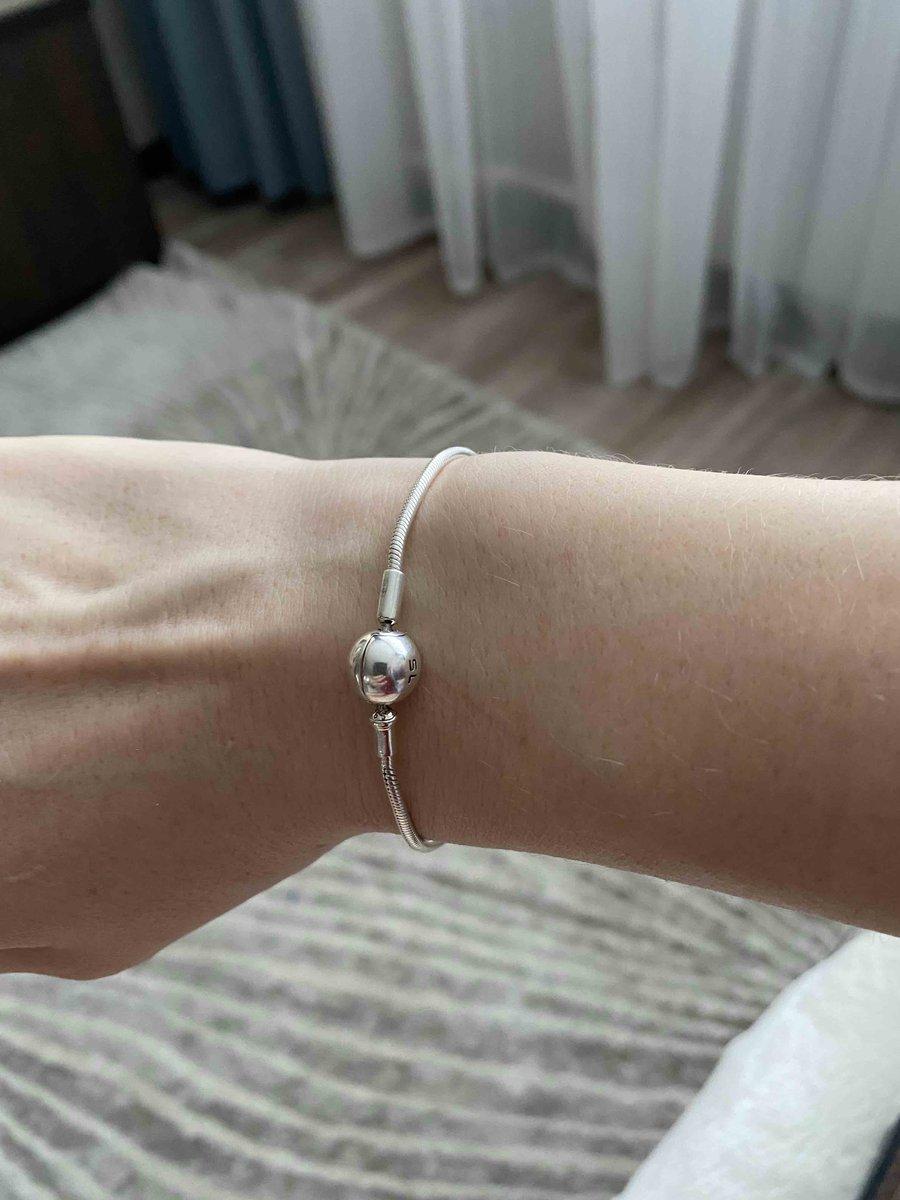 Сетебрянный браслет