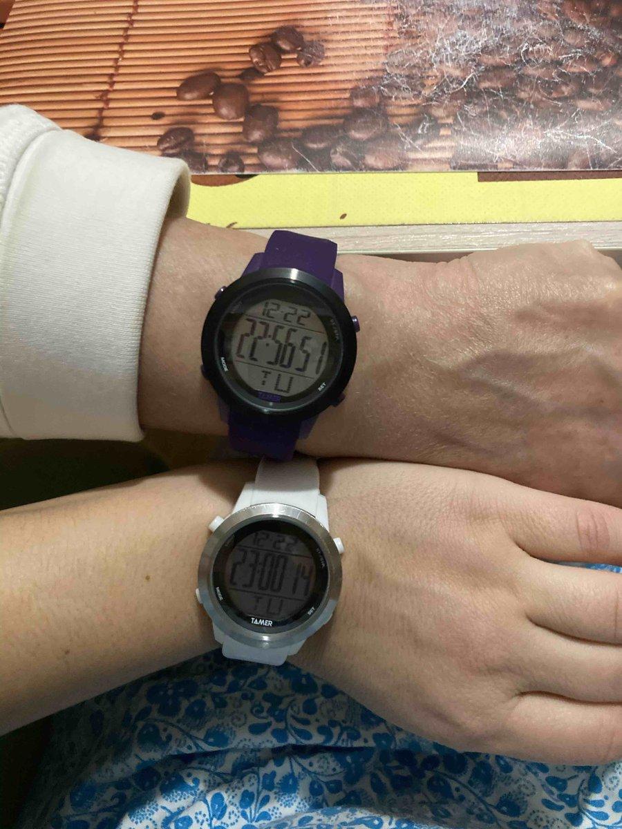 Подарила маме на новый год ) третьи наши часы в разной цветовой гамме