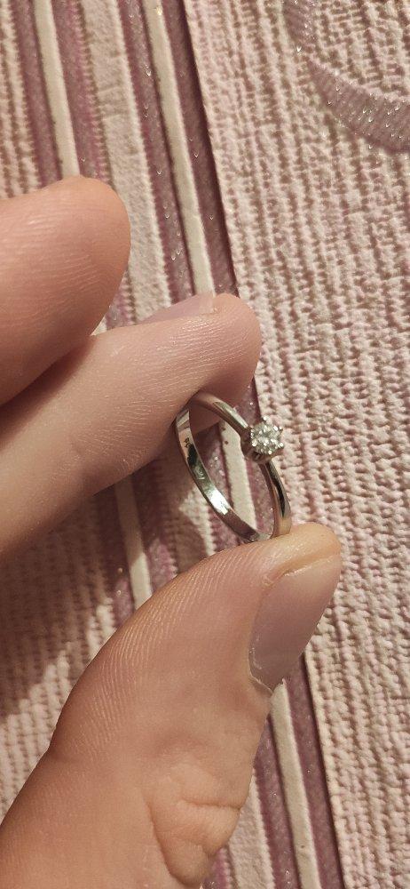 Взял кольцо на помолвку, или как ещё говорят для предложения.
