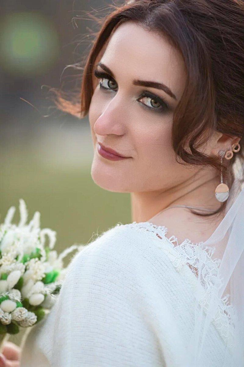 Свадебные сережки