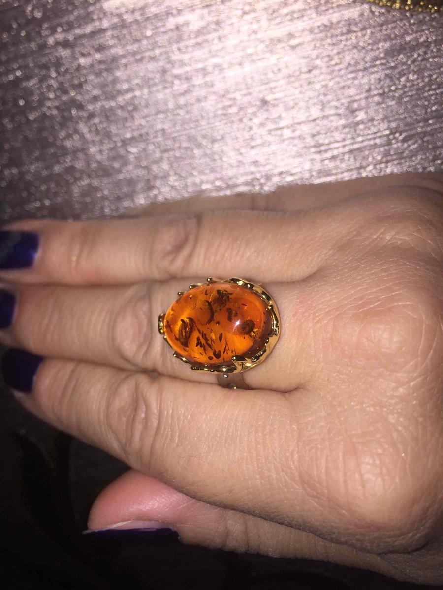 Супер перстень с янтарем!