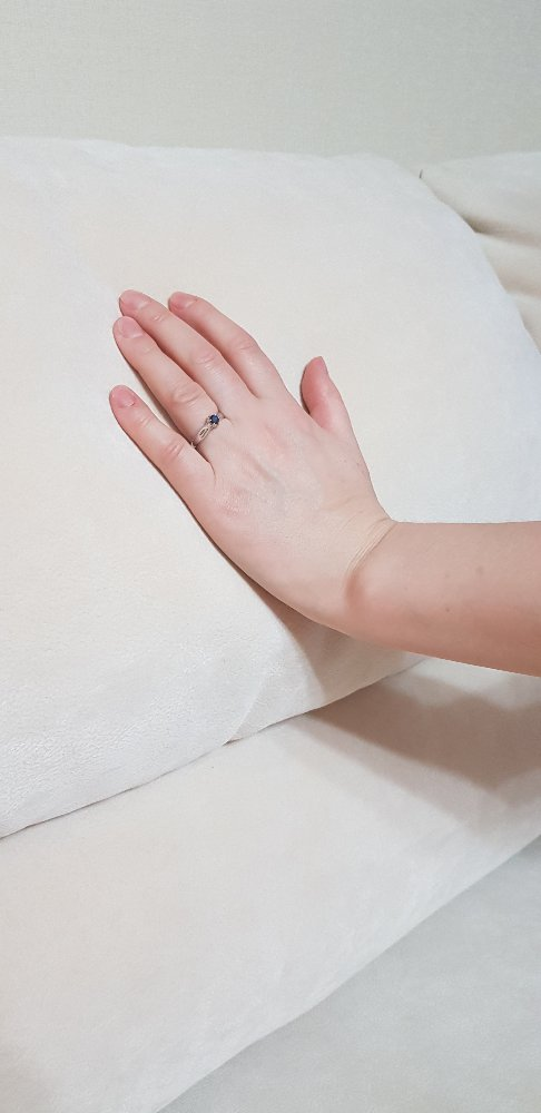 Шикарное колечко,натуральный сапфир в белом золоте