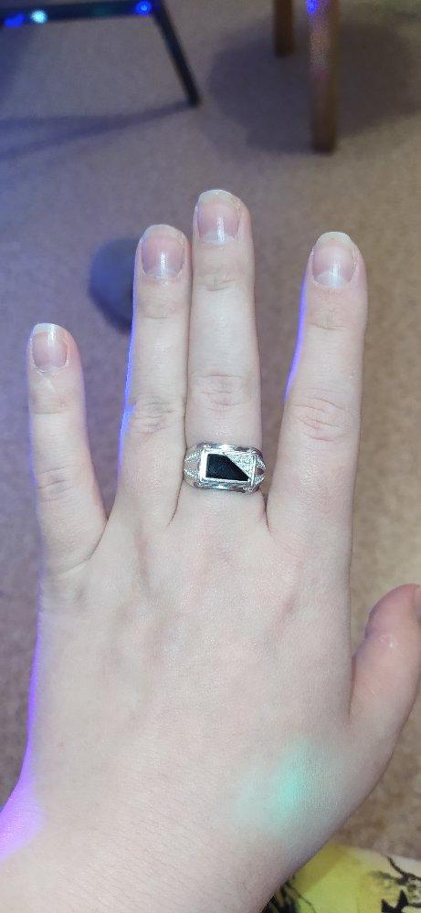 Очень красивый перстень мужской