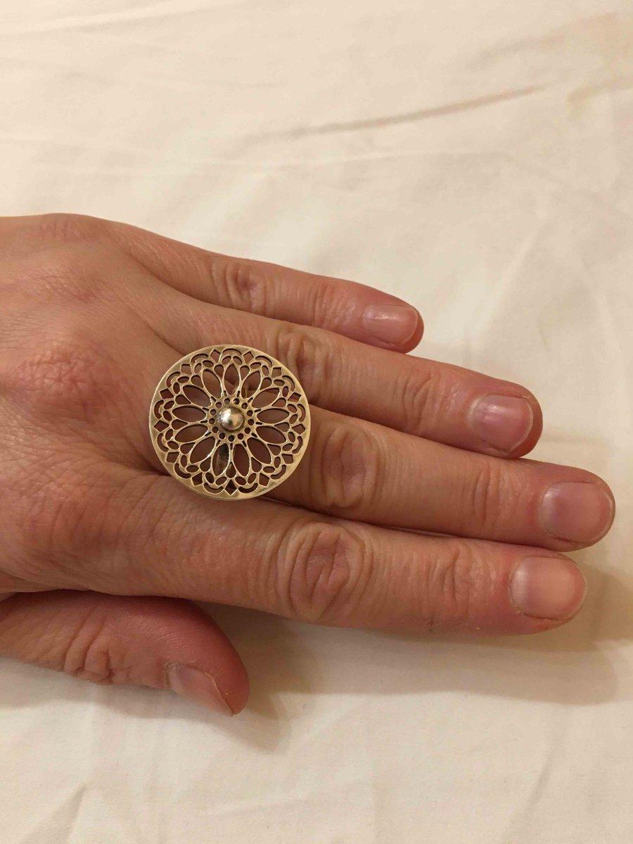 Кольцо из коллекции « этно »
