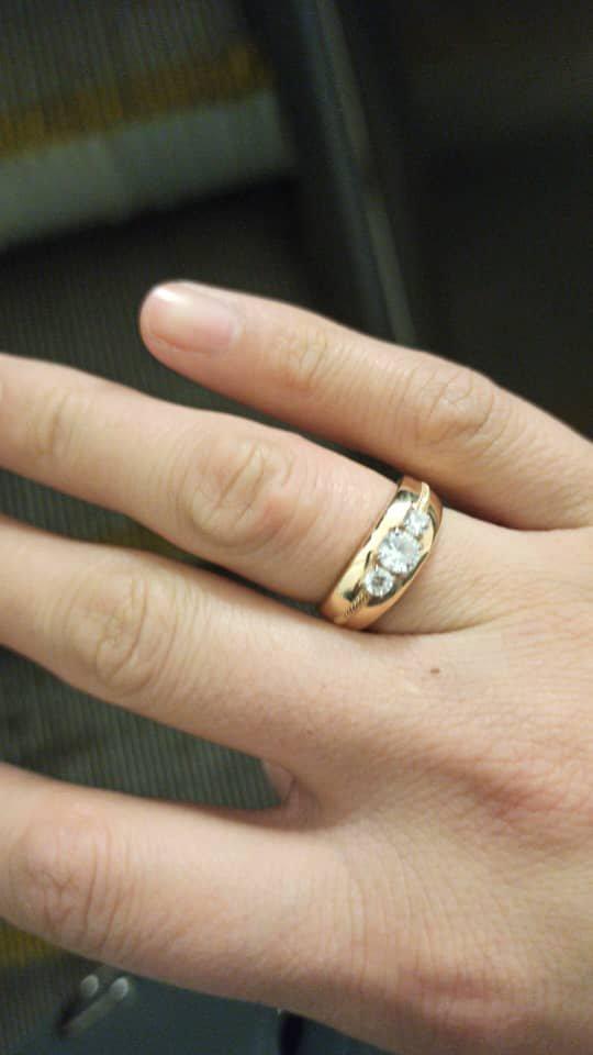 Заказала себе кольцо